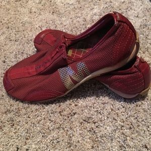 Red Merrell Shoes Size 8